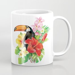 Tropical Toucan Collage Coffee Mug