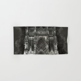 Cathedral Black Hand & Bath Towel