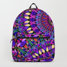 Bohemian Blossom Mandala Backpack