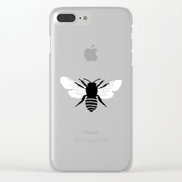 Bee world Clear iPhone Case