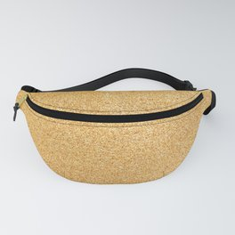 Gold Glitter Texture Fanny Pack