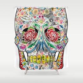 Sugar Skull Shower Curtain