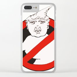 Trumpbusters Clear iPhone Case