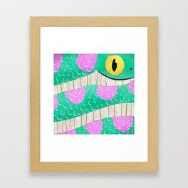 Kaa Framed Art Print