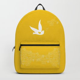 Wings of Love - Golden & Yellow Backpack