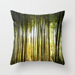 Rothschild Bamboo Forest Throw Pillow