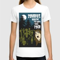 walking dead T-shirts featuring Walking Dead by grawiton
