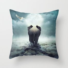 Guide You Through the Darkness Throw Pillow