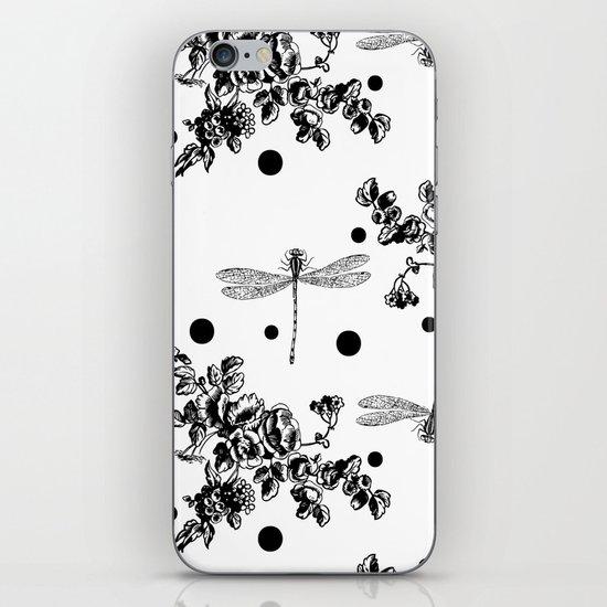midnight garden iPhone & iPod Skin