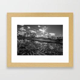 Mack Park-Black and White Framed Art Print