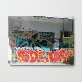 graffiti 0 Metal Print