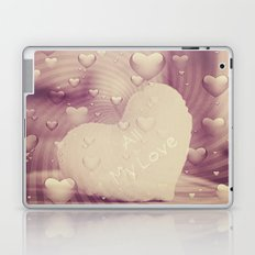 Luv Hearts Laptop & iPad Skin
