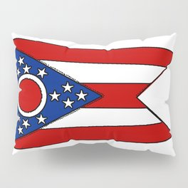 Fancy Flag:  Ohio Pillow Sham