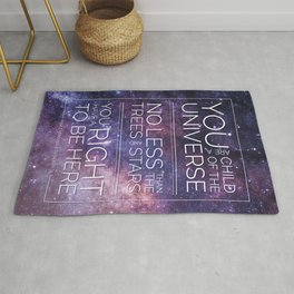 Child of the Universe Rug