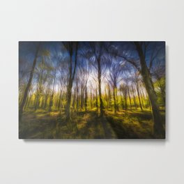 Storms Forest Art Turner Metal Print