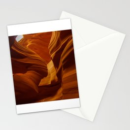 Girl Image in Antelope Canyon Stationery Cards