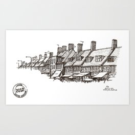 Watling Avenue, Burnt Oak Art Print