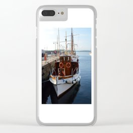 Classic Boats In Oslo Clear iPhone Case