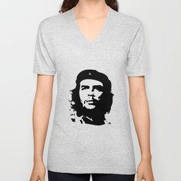Che Guevara in Black Unisex V-Neck