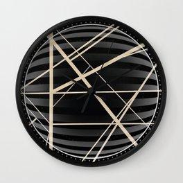 Crossroads -3D circle Wall Clock