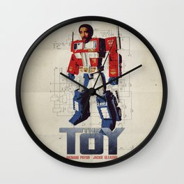 The Toy Poster Wall Clock