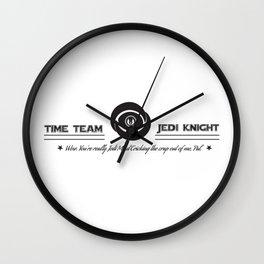 Time Team Knight Wall Clock