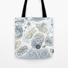Tattoo Pattern Tote Bag