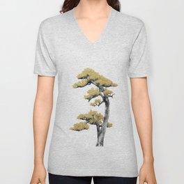 Bonsai Tree IV Unisex V-Neck