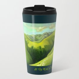 Mustering at the End of the Farm Travel Mug