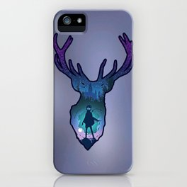 POTTER - PATRONUS ARTISTIC PAINT iPhone Case