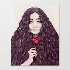 Yoko Ono Canvas Print