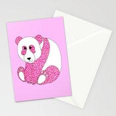 Panda Pink Stationery Cards