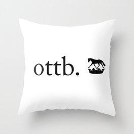 ottb brand Throw Pillow