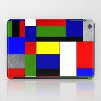 mondrian iPad Cases featuring Mondrian #4 by Ron Trickett