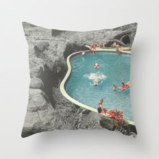 is this the place that they call paradise? Throw Pillow