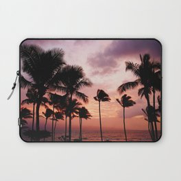Palm Tree Sunset Laptop Sleeve