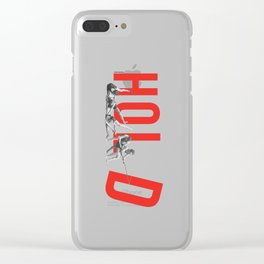 Hold Clear iPhone Case
