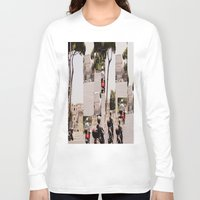 roman Long Sleeve T-shirts featuring Roman Traffic by Eva Lesko