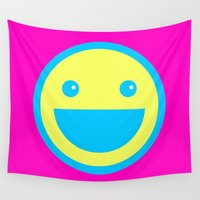 acid Wall Tapestries featuring Acid House by MATMAN