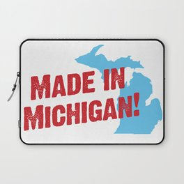 Made in Michigan Laptop Sleeve