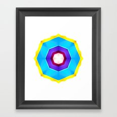 On the Beach Framed Art Print