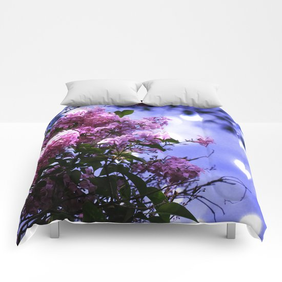 Lilac Sparkle Comforters
