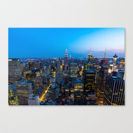 Manhattan - New York Canvas Print