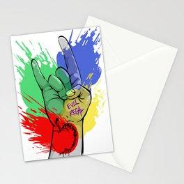 Evil Regal Stationery Cards