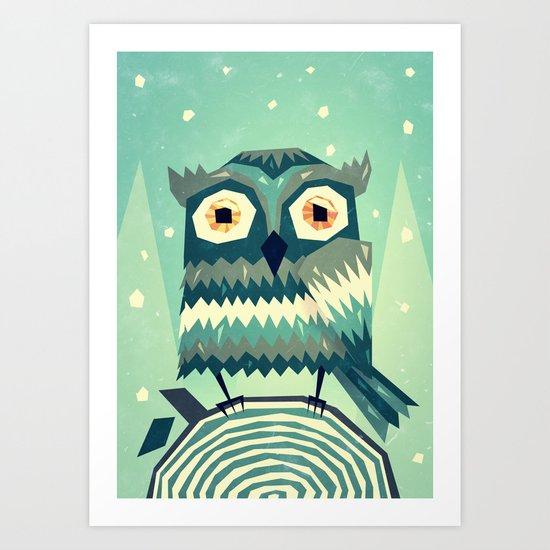 Boohoo! Art Print