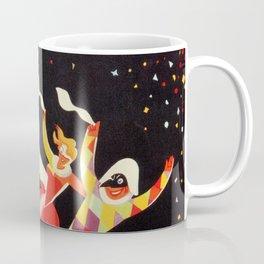 Vintage Viareggio carnival Italian travel ad  Coffee Mug