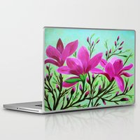 musa Laptop & iPad Skins featuring Magnolias by maggs326