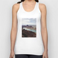 colorado Tank Tops featuring The Colorado River by Kevin Russ
