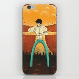 Kenshiro doesn't look at explosions iPhone Skin