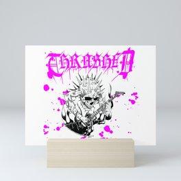 Thrashed- To The Thrashold Mini Art Print